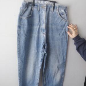 Lee scrunch waist jeans